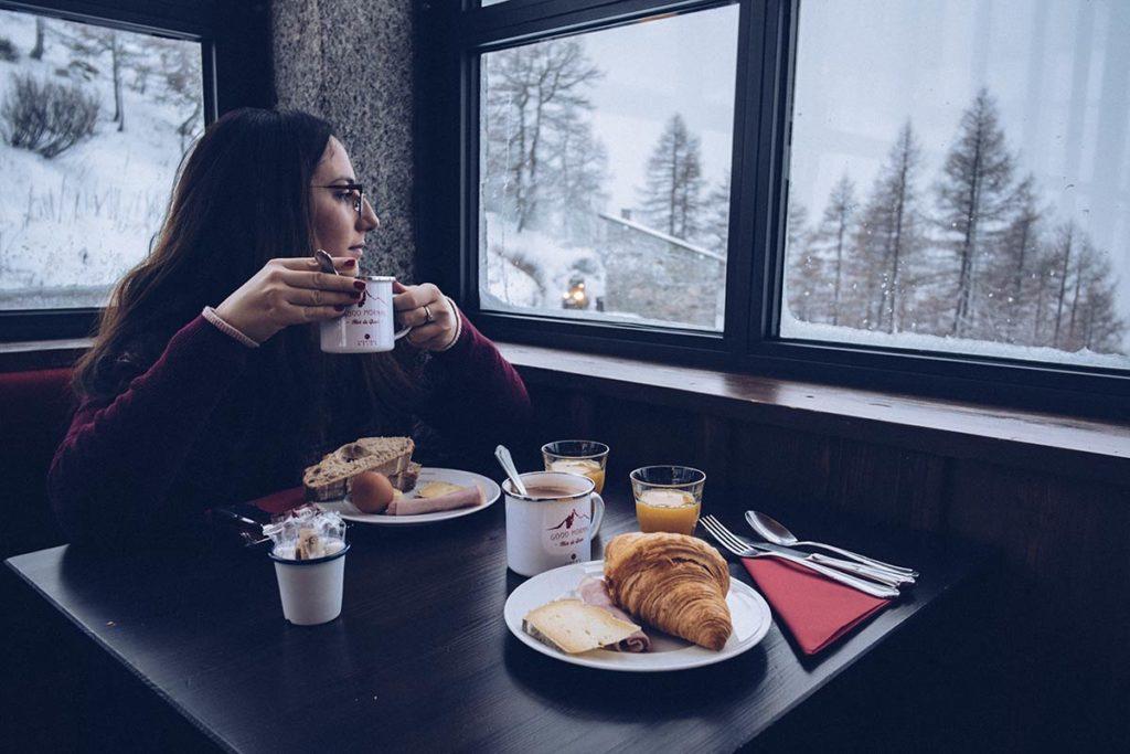 Chamonix Terminal Neige petit déjeuner Audrey Refuse to hibernate