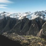 Chamonix vue Chemin de fer du Montenvers Refuse to hibernate