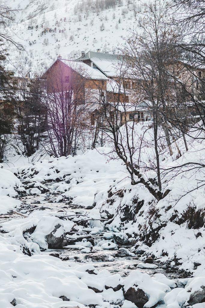 Valloire refuse to hibernate balade avec des lamas ruisseau