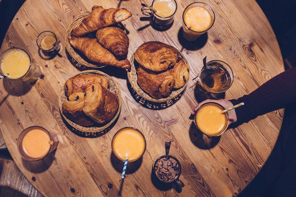 Valloire refuse to hibernate Kosa Krûta petit déjeuner