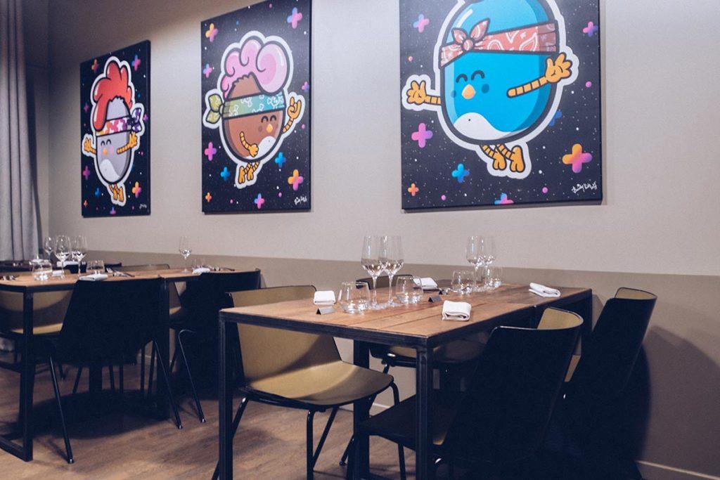 Fête des Lumières Aromatic restaurant salle Refuse to hibernate