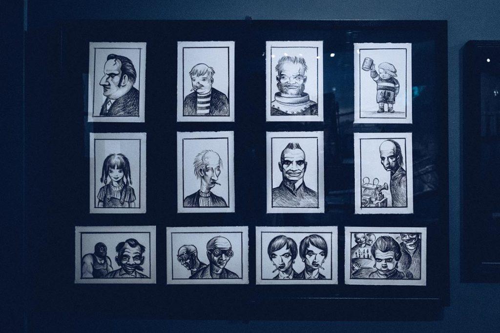 Fête des Lumières musée Miniature et Cinéma croquis Refuse to hibernate
