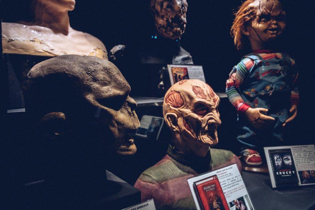 Fête des Lumières musée Miniature et Cinéma masques Refuse to hibernate