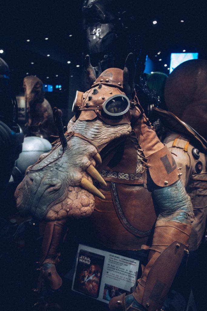 Fête des Lumières musée Miniature et Cinéma Star Wars Refuse to hibernate