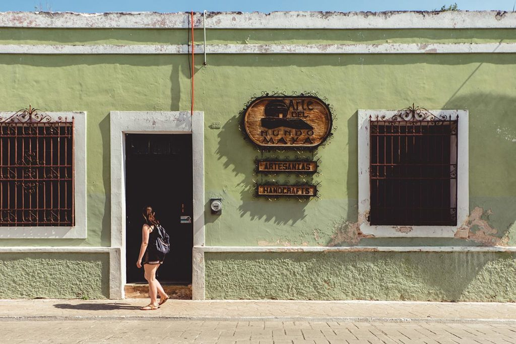Valladolid Audrey mur vert Refuse to hibernate