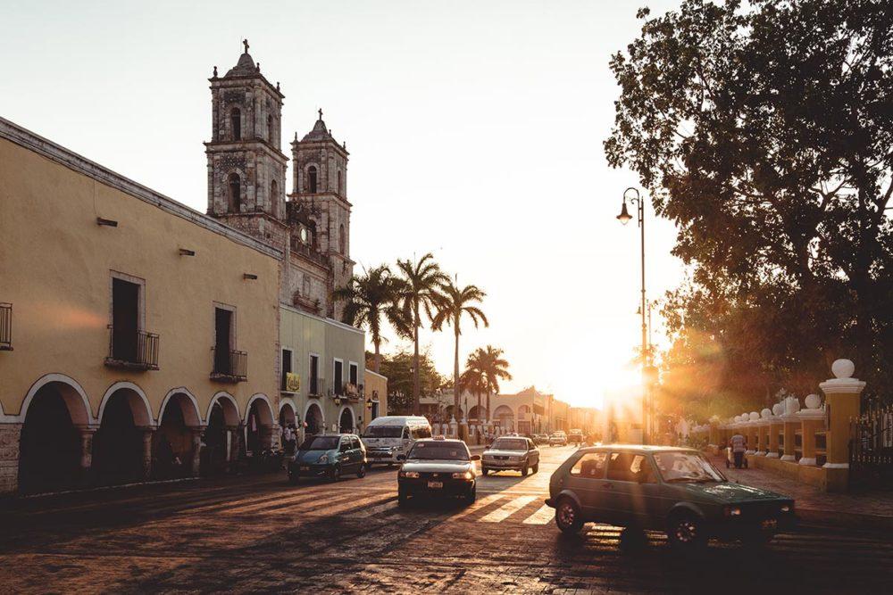 Valladolid coucher de soleil Cathédrale San Servacio Refuse to hibernate