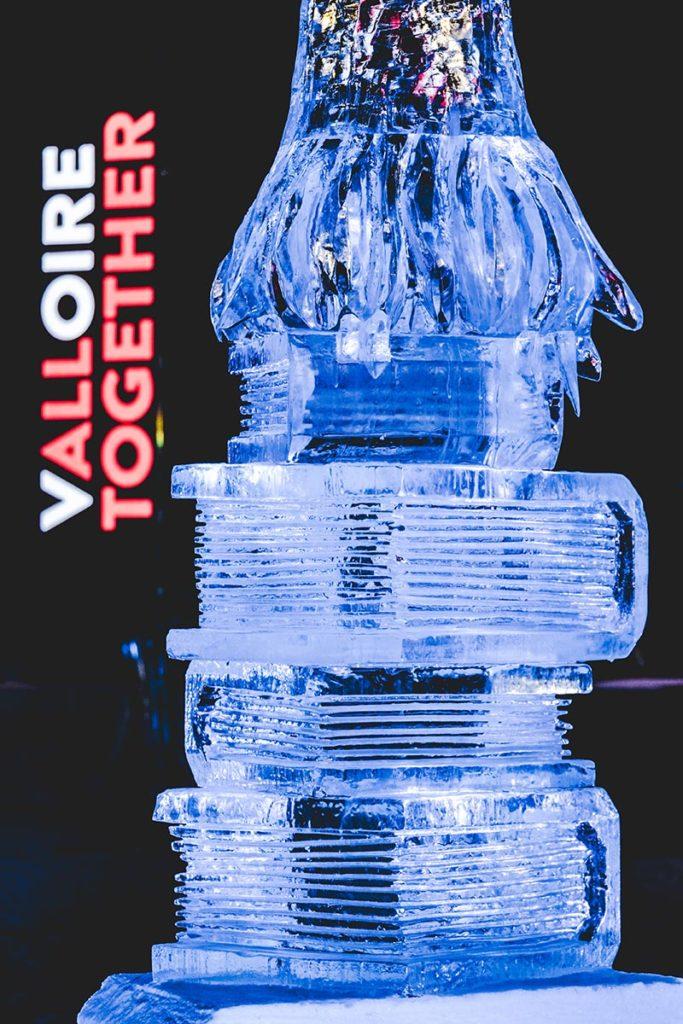Valloire refuse to hibernate sculpture sur glace livres