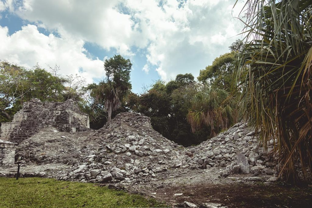 Sian Ka'an réserve les ruines de Muyil Refuse to hibernate
