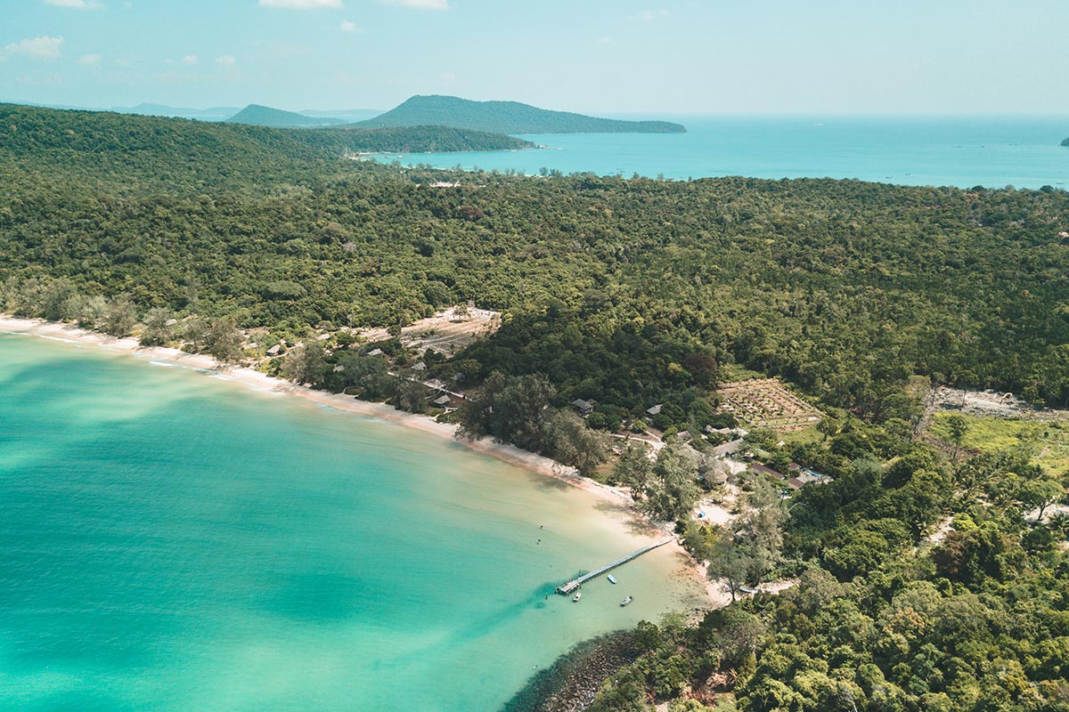 Cambodge Koh Rong Samloem Lazy beach Refuse to hibernate