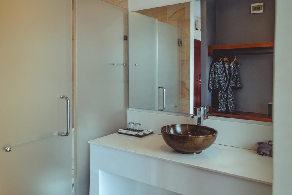Cambodge Siem Reap Residence 101 la salle de bain Refuse to hibernate