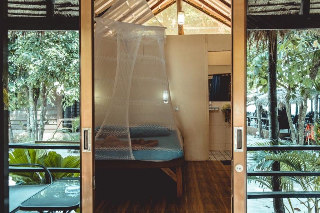 Cambodge Koh Rong Samloem Sweet Dreams Samloem bungalow Refuse to hibernate