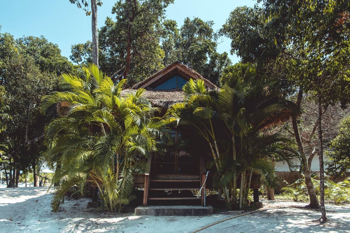 Cambodge Koh Rong Samloem The One Resort bungalow Refuse to hibernate