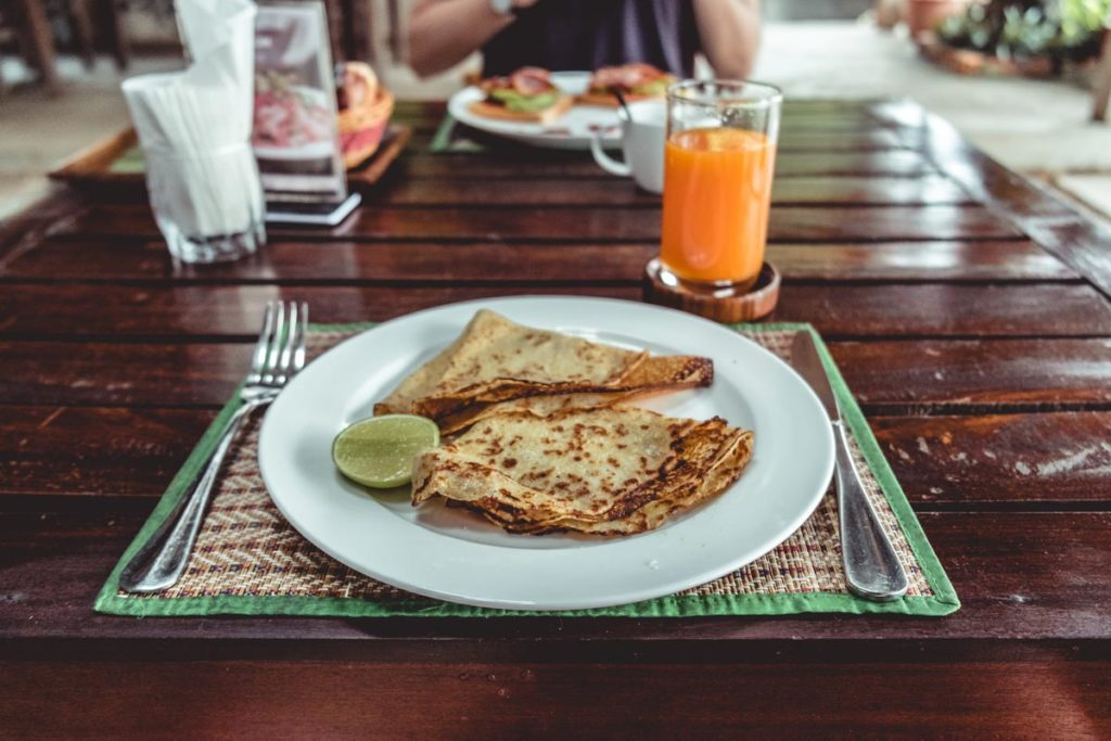 Cambodge Kratie Tonlé Guesthouse crepes Refuse to hibernate