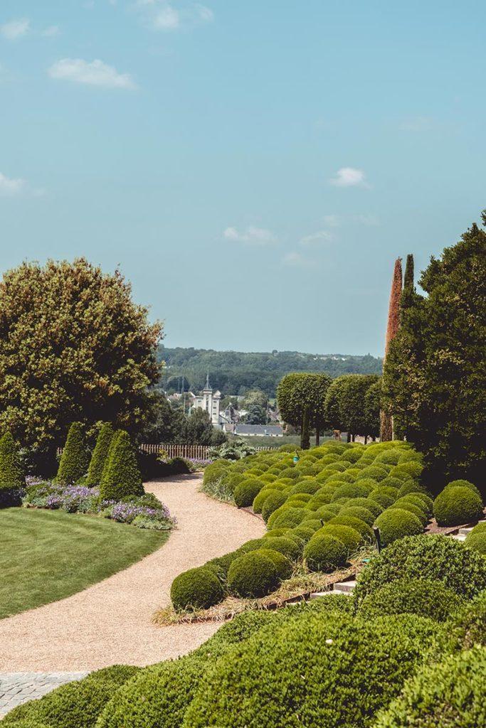 Châteaux de la Loire Amboise jardin Refuse to hibernate