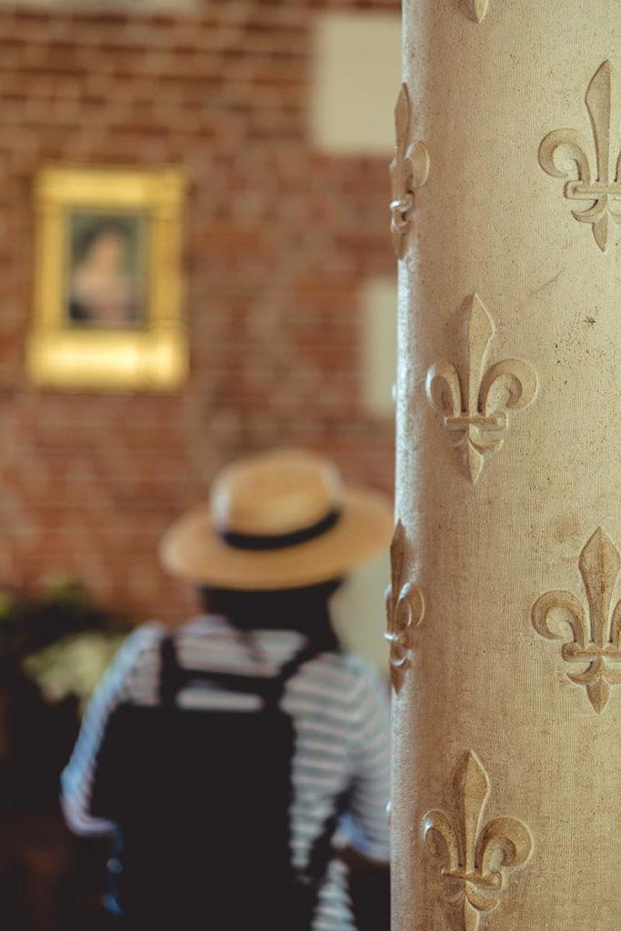 Châteaux de la Loire Amboise tableau Francois 1er flou Refuse to hibernate