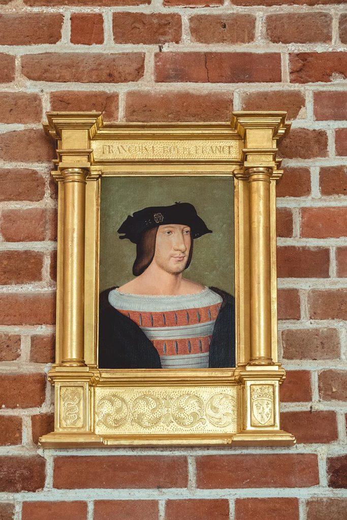Châteaux de la Loire Amboise tableau Francois 1er Refuse to hibernate