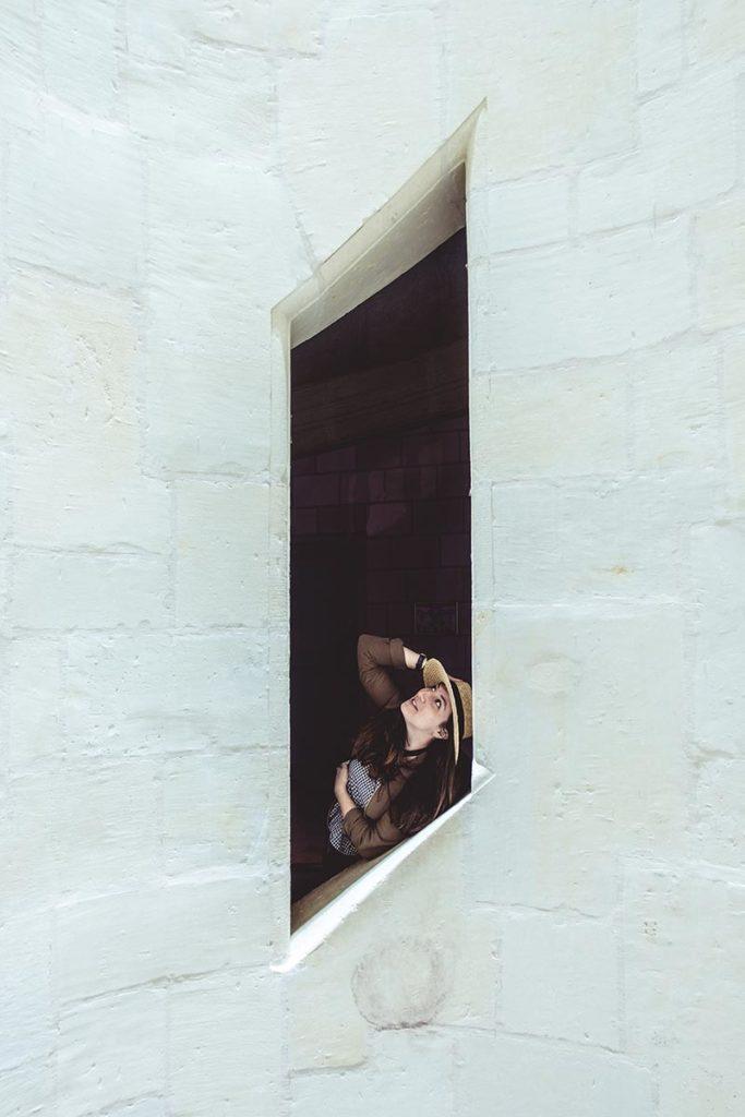 Châteaux de la Loire Chambord escalier Audrey Refuse to hibernate