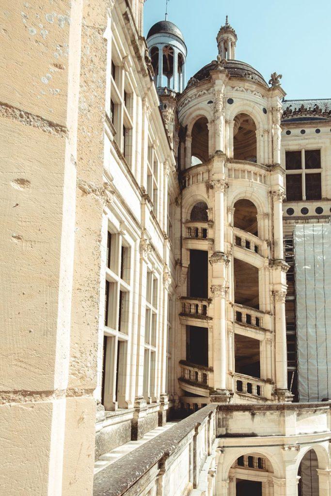 Châteaux de la Loire Chambord escalier Refuse to hibernate
