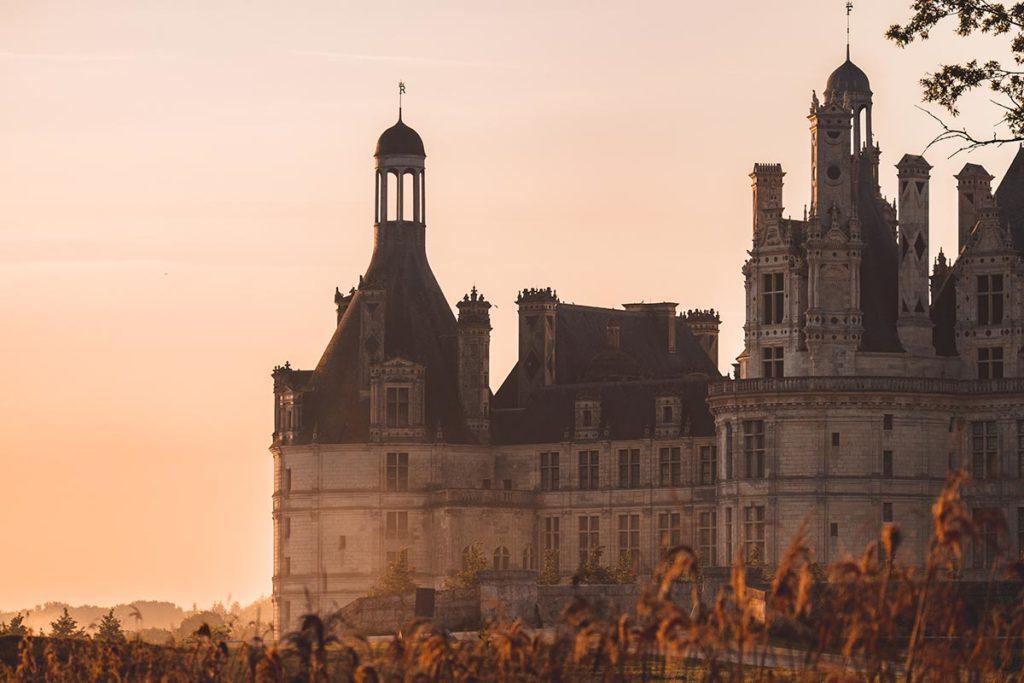 Châteaux de la Loire Chambord lever de soleil doré focus Refuse to hibernate