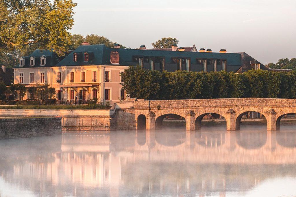 Châteaux de la Loire Chambord pont brume Refuse to hibernate