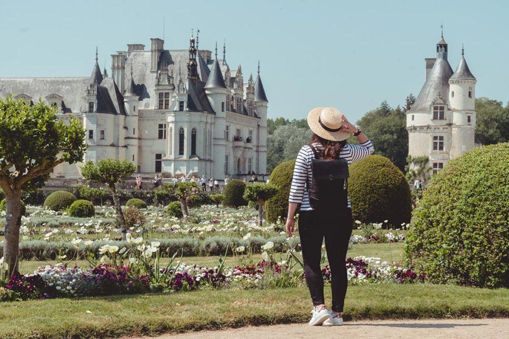 Châteaux de la Loire Chenonceau jardin Audrey Refuse to hibernate