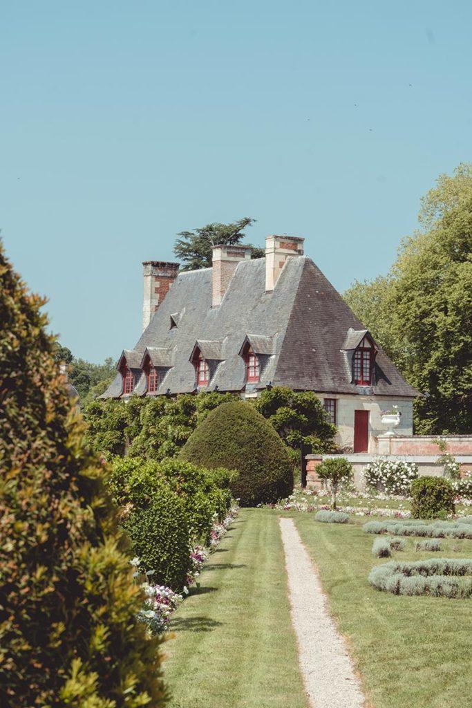 Châteaux de la Loire Chenonceau jardin maison Refuse to hibernate