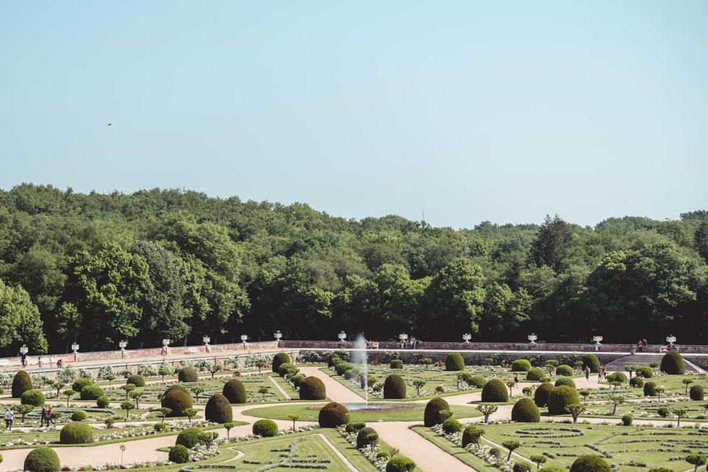 Châteaux de la Loire Chenonceau jardin Refuse to hibernate