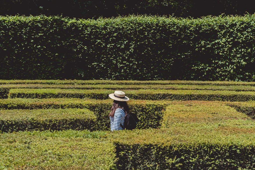 Châteaux de la Loire Chenonceau labyrinthe Refuse to hibernate