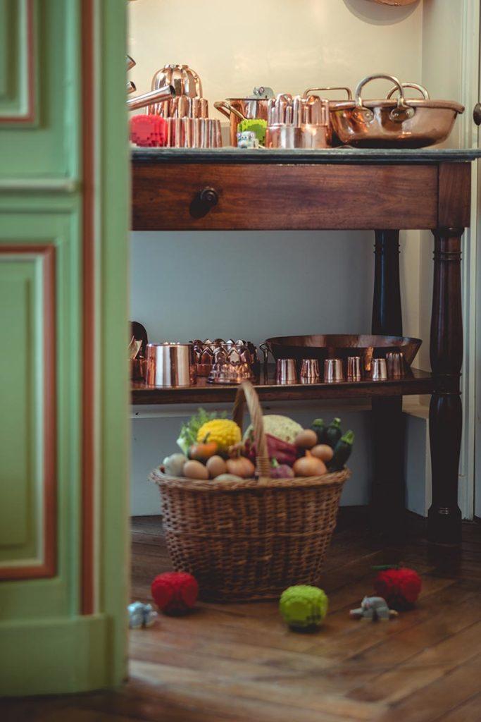 Châteaux de la Loire Cheverny cuisine Refuse to hibernate