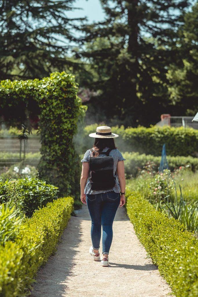 Châteaux de la Loire Cheverny jardin Audrey Refuse to hibernate