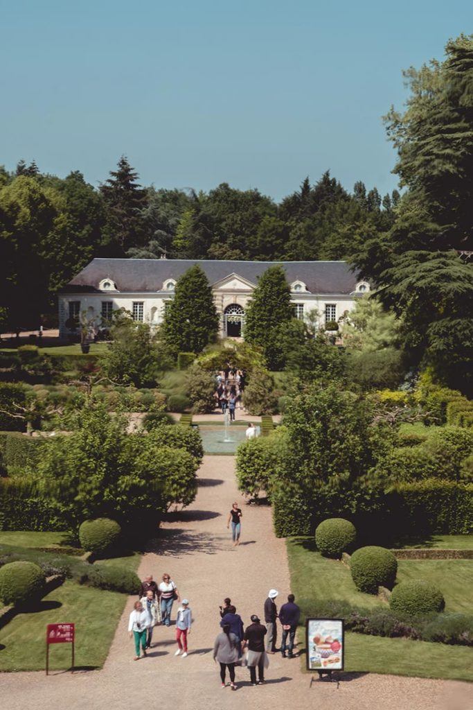 Châteaux de la Loire Cheverny jardin orangerie Refuse to hibernate
