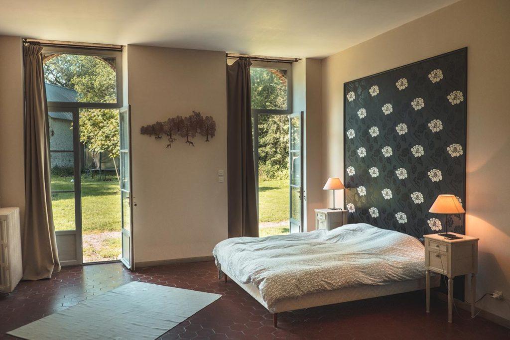 Châteaux de la Loire Logis de Bois Renard chambre Refuse to hibernate