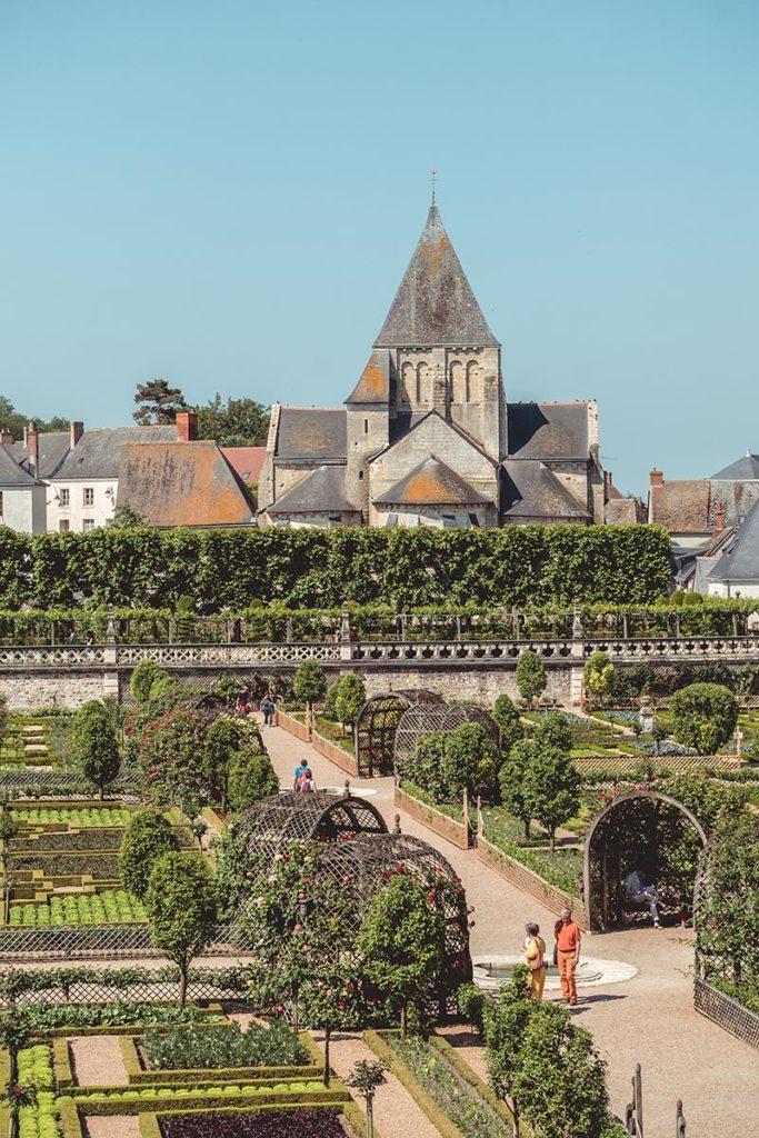 Châteaux de la Loire Villandry jardin Refuse to hibernate