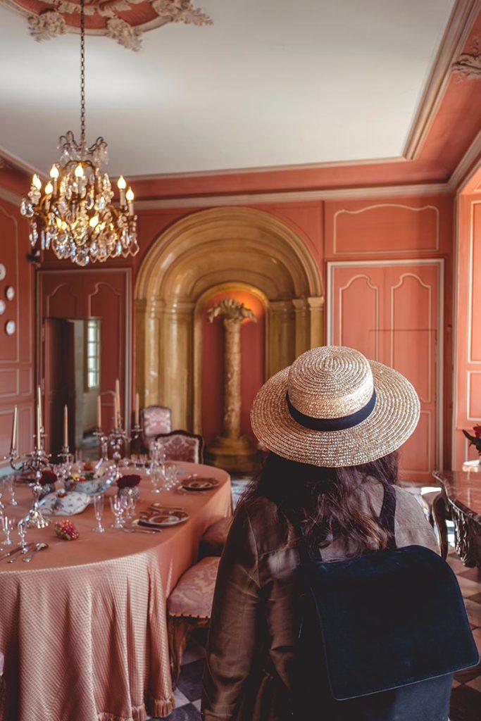 Châteaux de la Loire Villandry salon Refuse to hibernate
