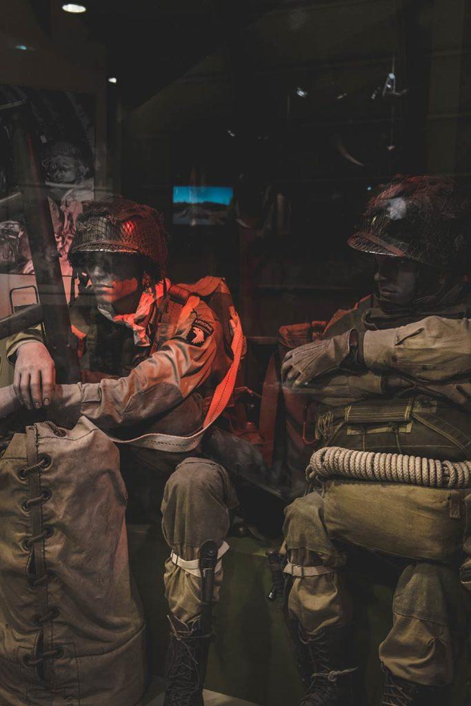Débarquement Normandie D Day expérience musée soldats Refuse to hibernate