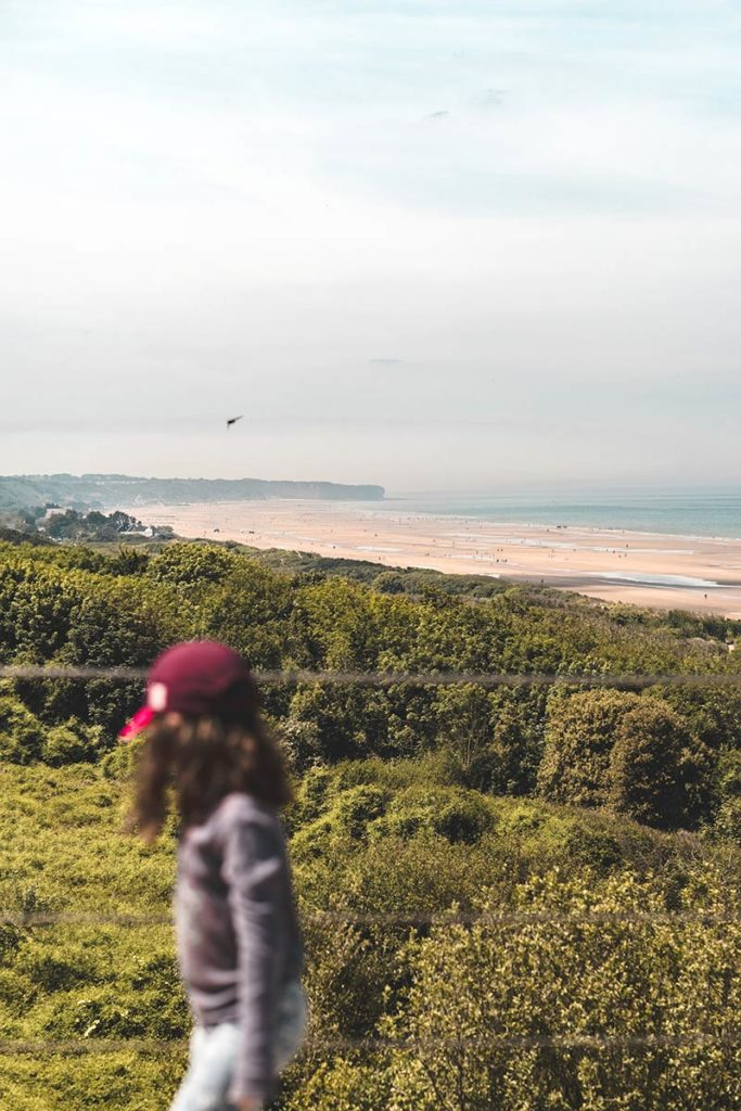 Débarquement Normandie Omaha Beach enfant Refuse to hibernate