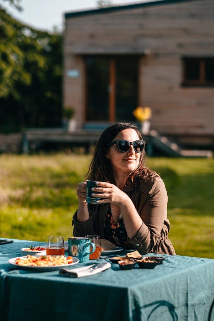 Eure La-Haye-de-Routot La Cabane Heureuse petit-déjeuner Audrey Refuse to hibernate