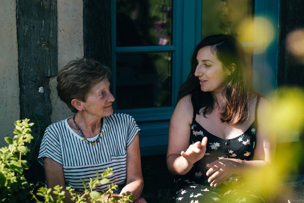 Eure La Haye-de-Routot sureau Michele Lesage Audrey Refuse to hibernate