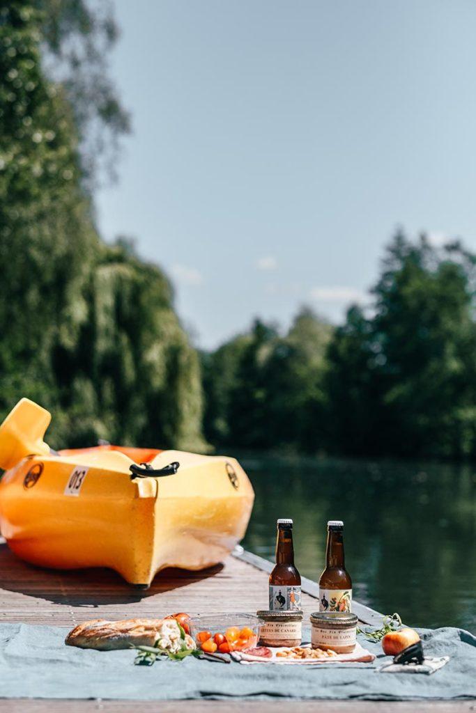 Eure Louviers kayak pique-nique Refuse to hibernate