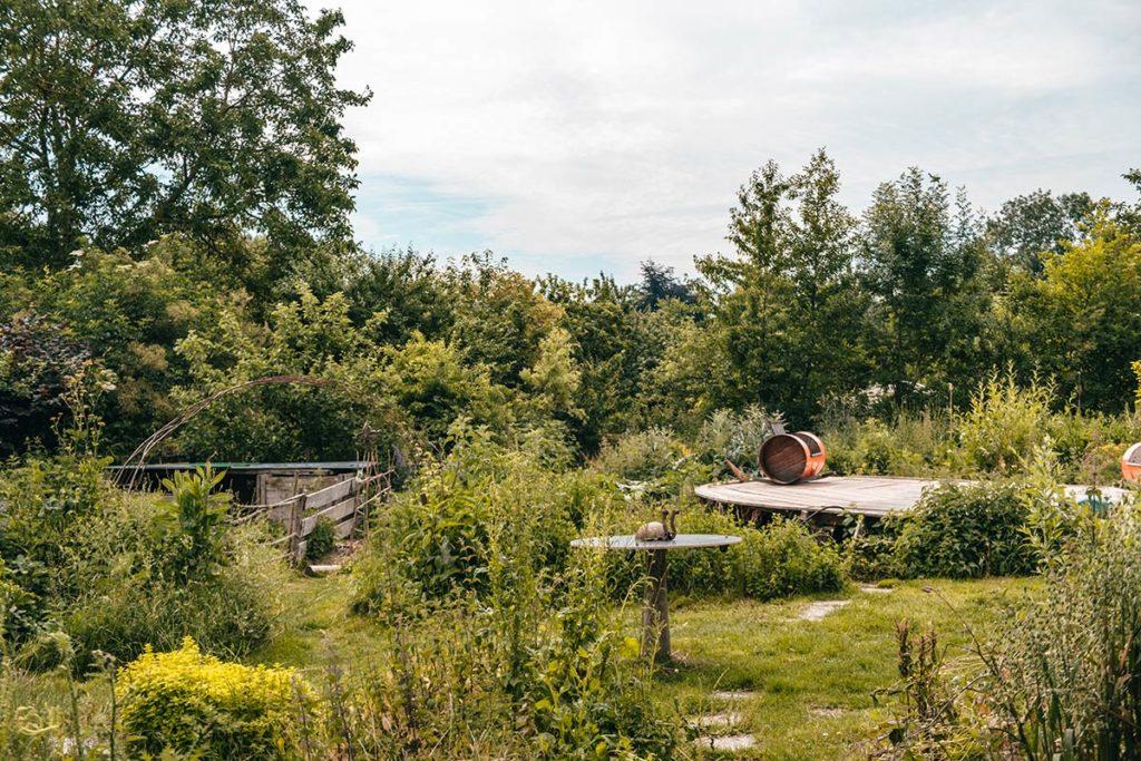 Eure Marais Vernier l'Escargotier jardin Refuse to hibernate