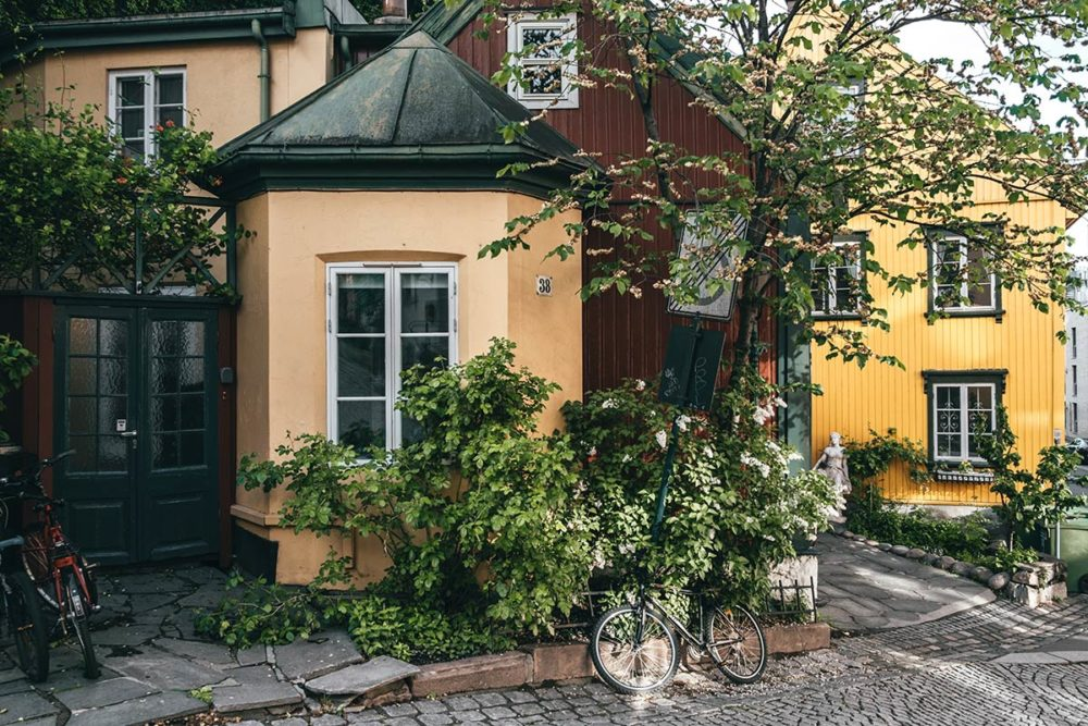 Oslo Damstredet maisons Refuse to hibernate