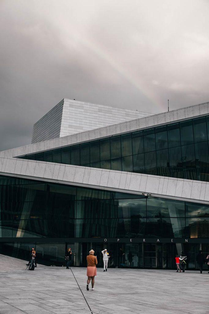 Oslo Opéra entrée Refuse to hibernate
