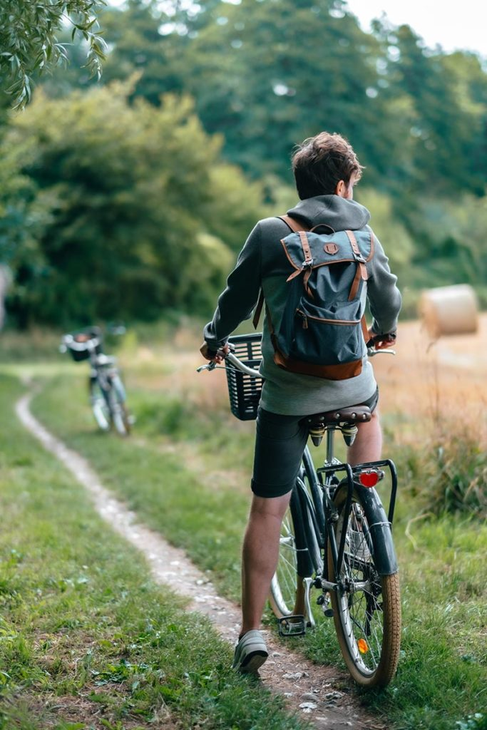 Baie de Somme Domaine du Lieu Dieu balade à vélo Mickael Refuse to hibernate