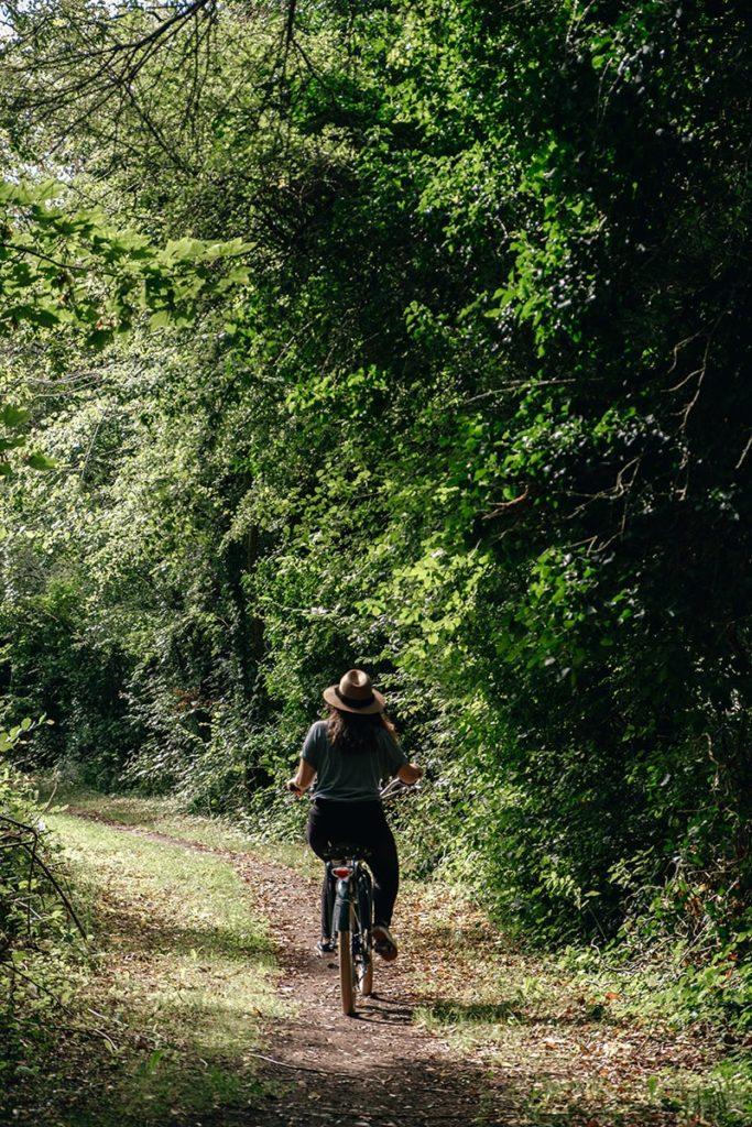 Baie de Somme Domaine du Lieu Dieu balade à vélo Refuse to hibernate