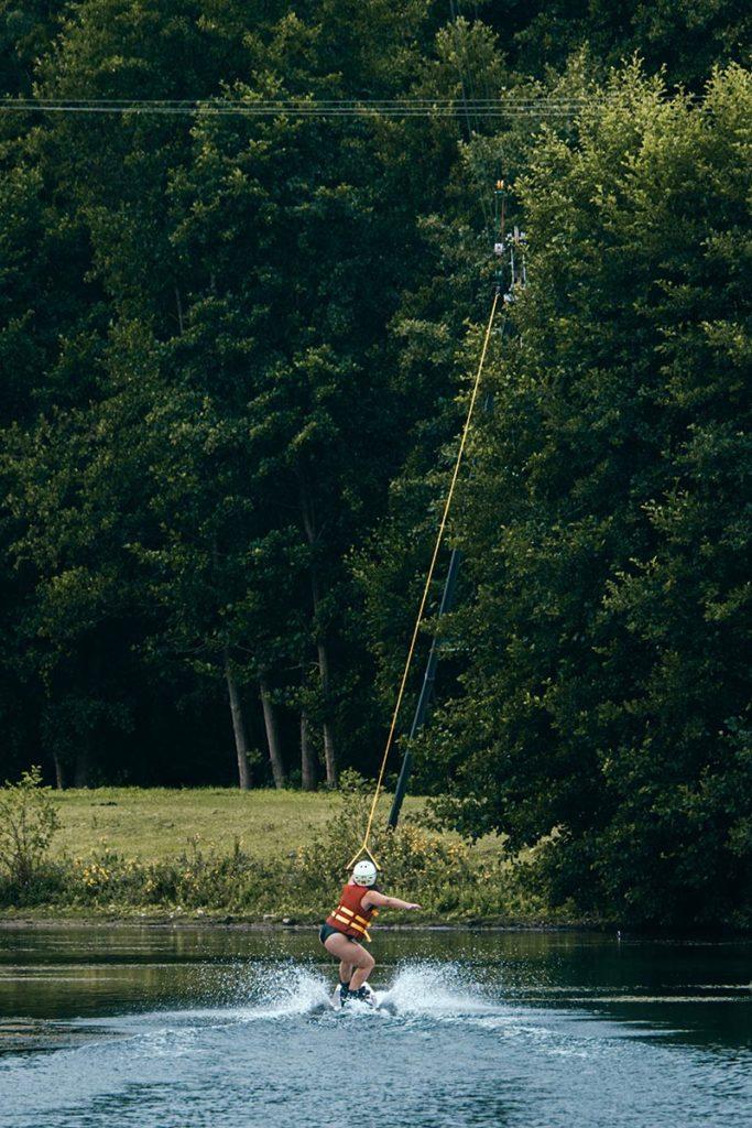 Baie de Somme Domaine du Lieu wakeboard Audrey Refuse to hibernate