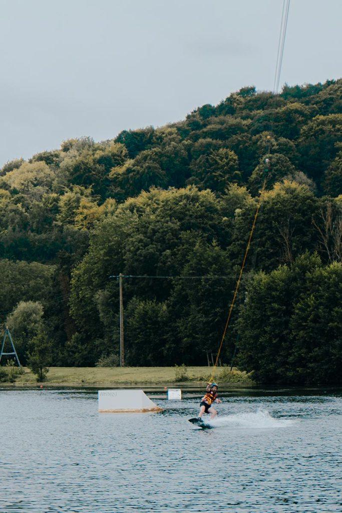 Baie de Somme Domaine du Lieu wakeboard Mickael Refuse to hibernate