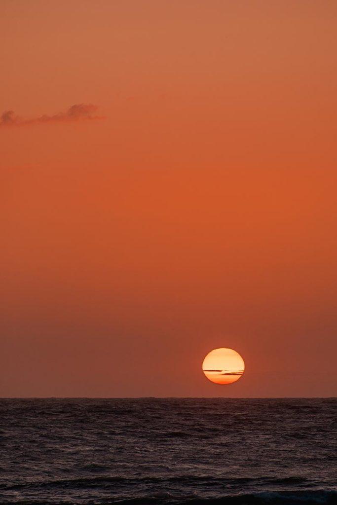 Baie de Somme falaises d'Ault magnifique coucher de soleil Refuse to hibernate