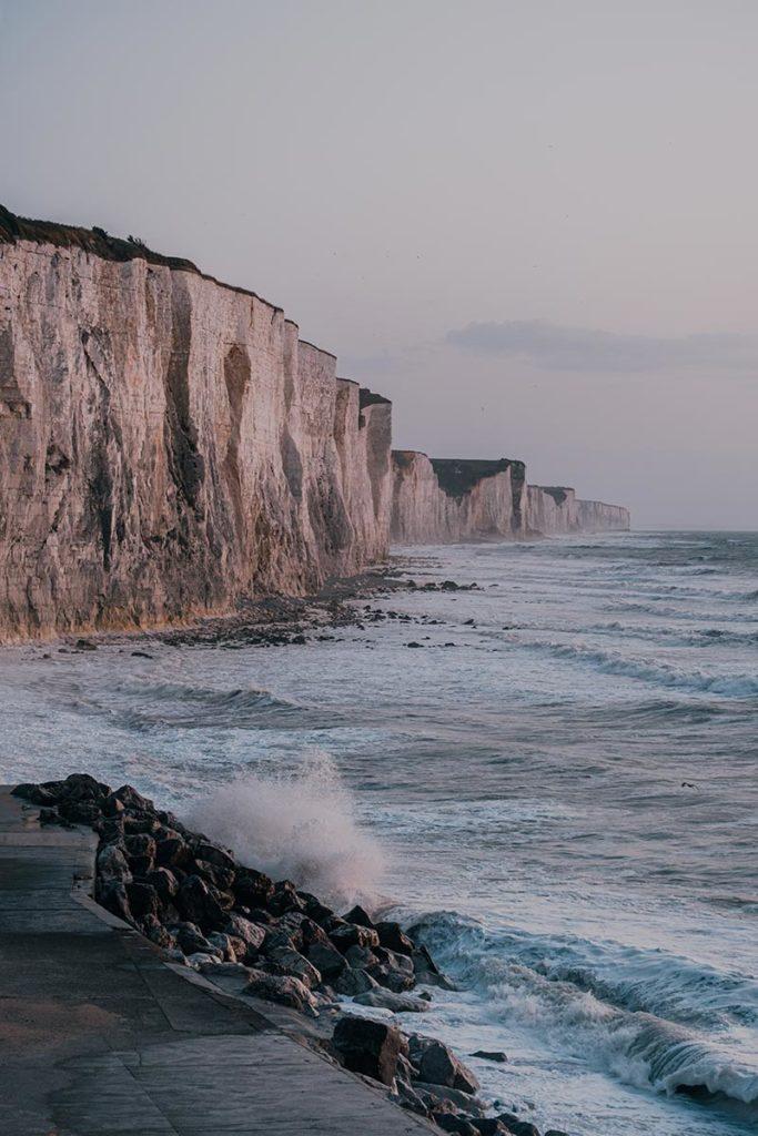 Baie de Somme falaises d'Ault Refuse to hibernate