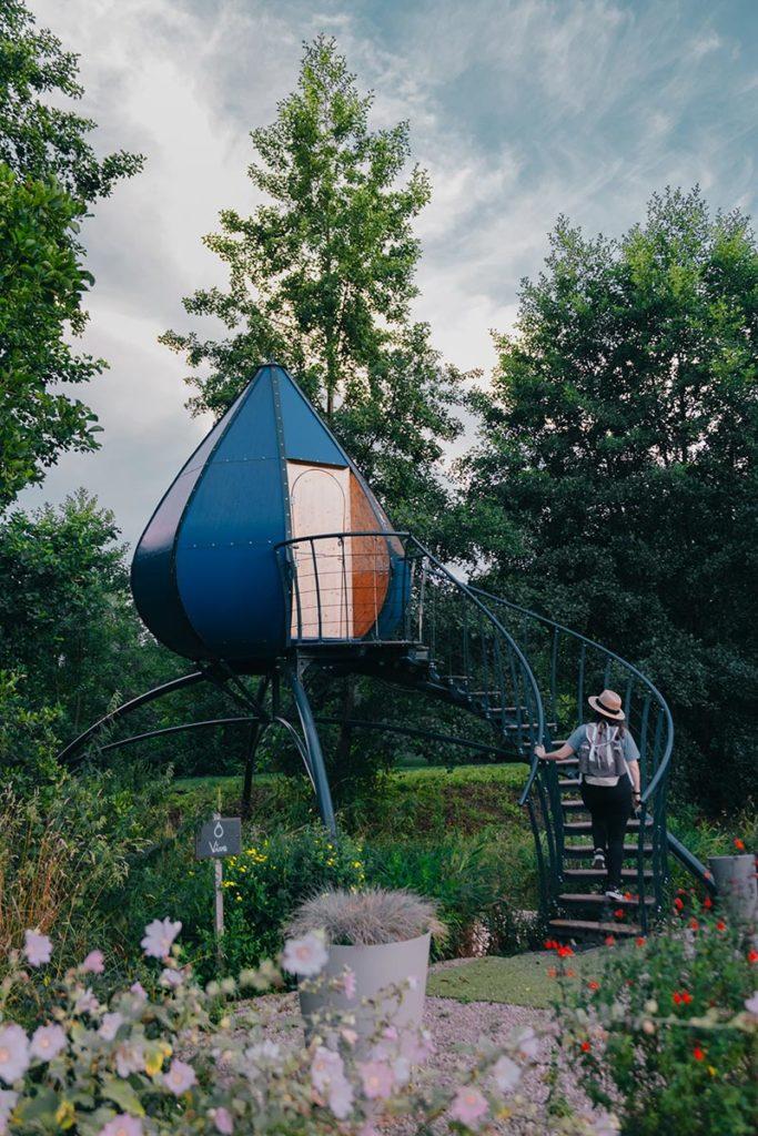 Baie de Somme logement insolite goutte d'O Domaine du Lieu Dieu Audrey Refuse to hibernate
