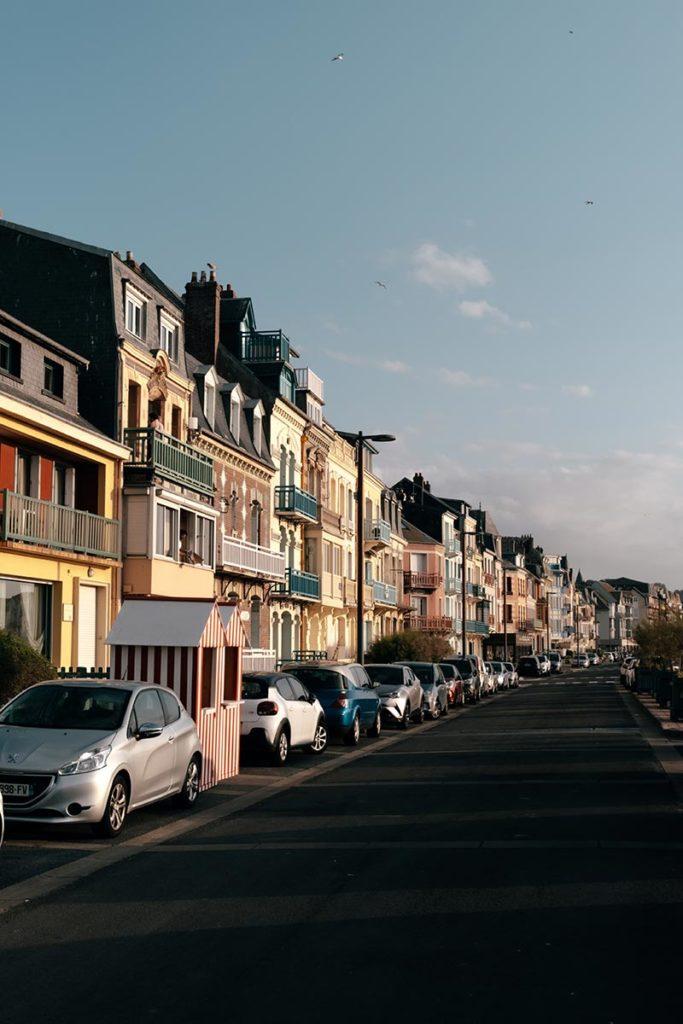 Baie de Somme Mers-les-Bains maisons colorées coucher de soleil Refuse to hibernate
